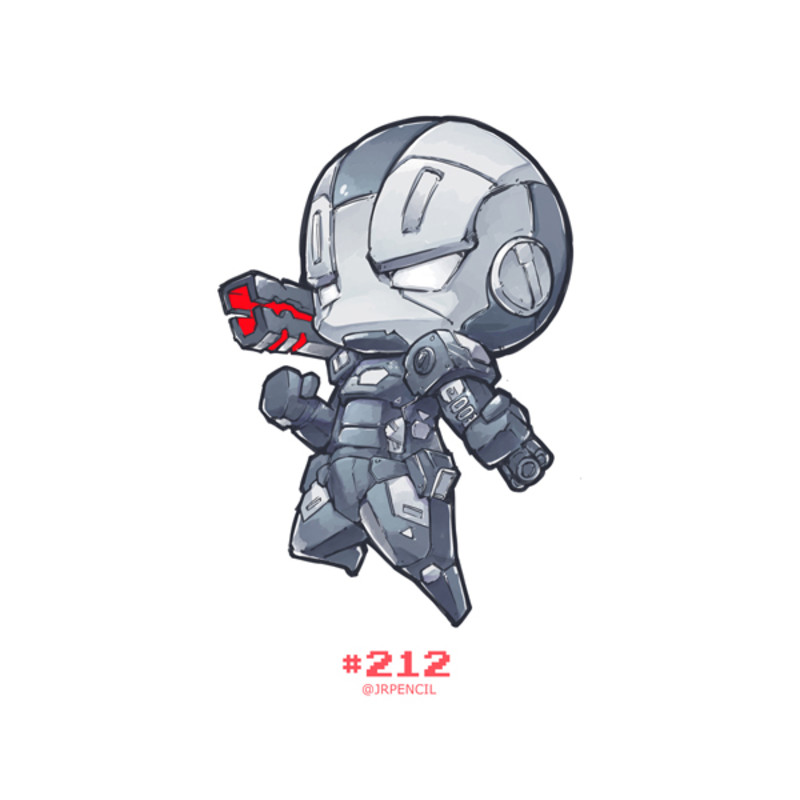 800x800 Character Warmachine From Marvel Artprint On Etsy