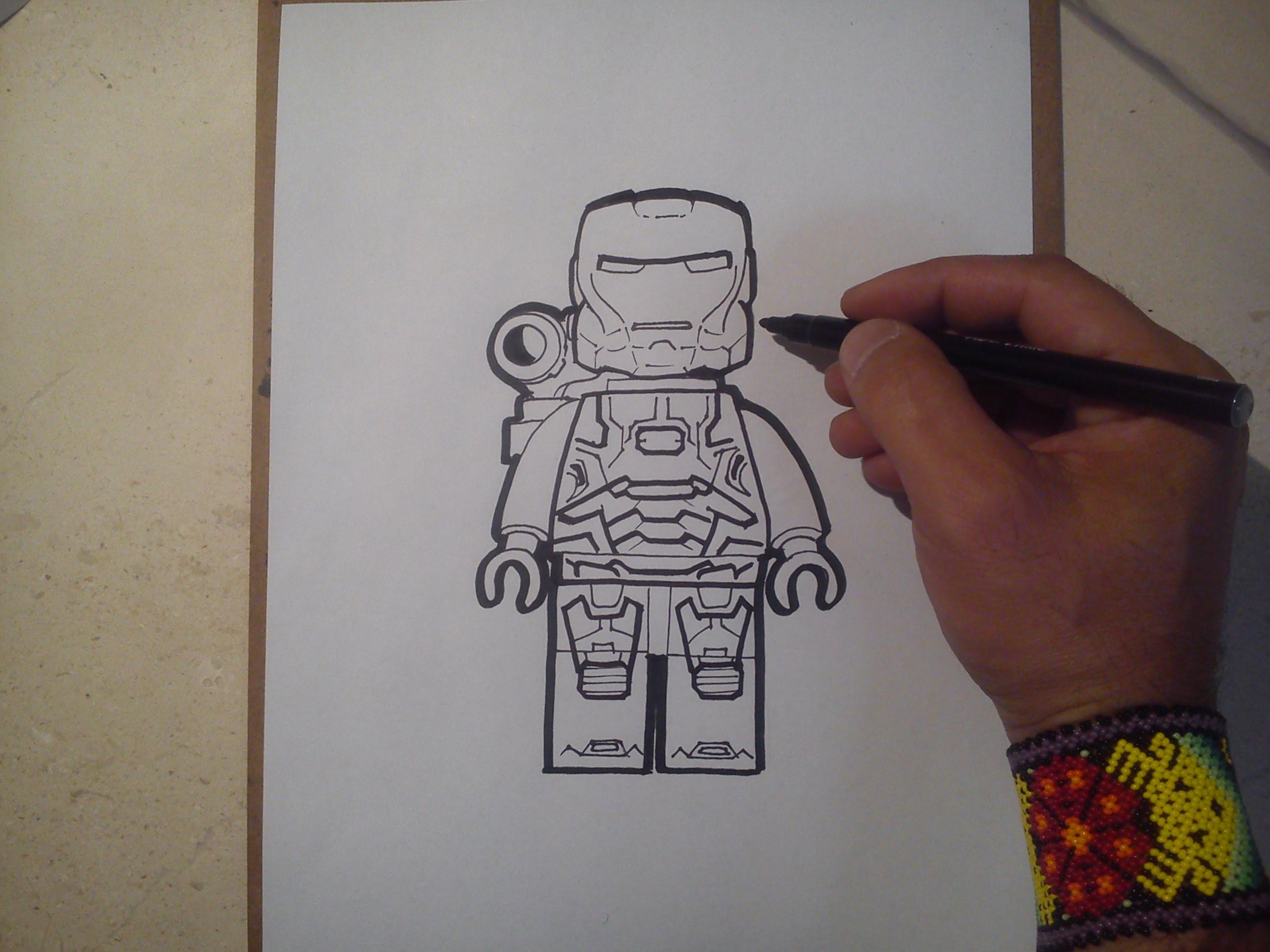2592x1944 Como Dibujar A Maquina De Guerra (Lego) How To Draw A War