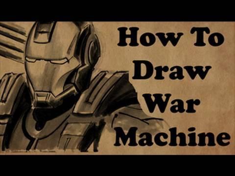 480x360 How To Draw War Machine