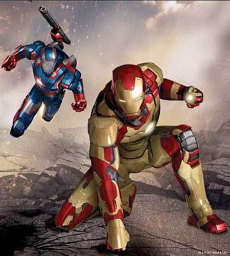 450x500 Iron Man 3 News Drawing War Machine And Extremis Armors Brusimm