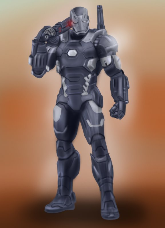 577x800 Learn How To Draw War Machine From Captain America Civil War