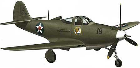 448x218 Bell P39 Airacobra Aircraft