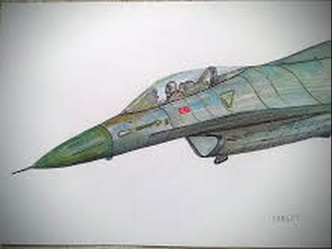 480x360 The Best War Plane Of All, Drawing Timelapse