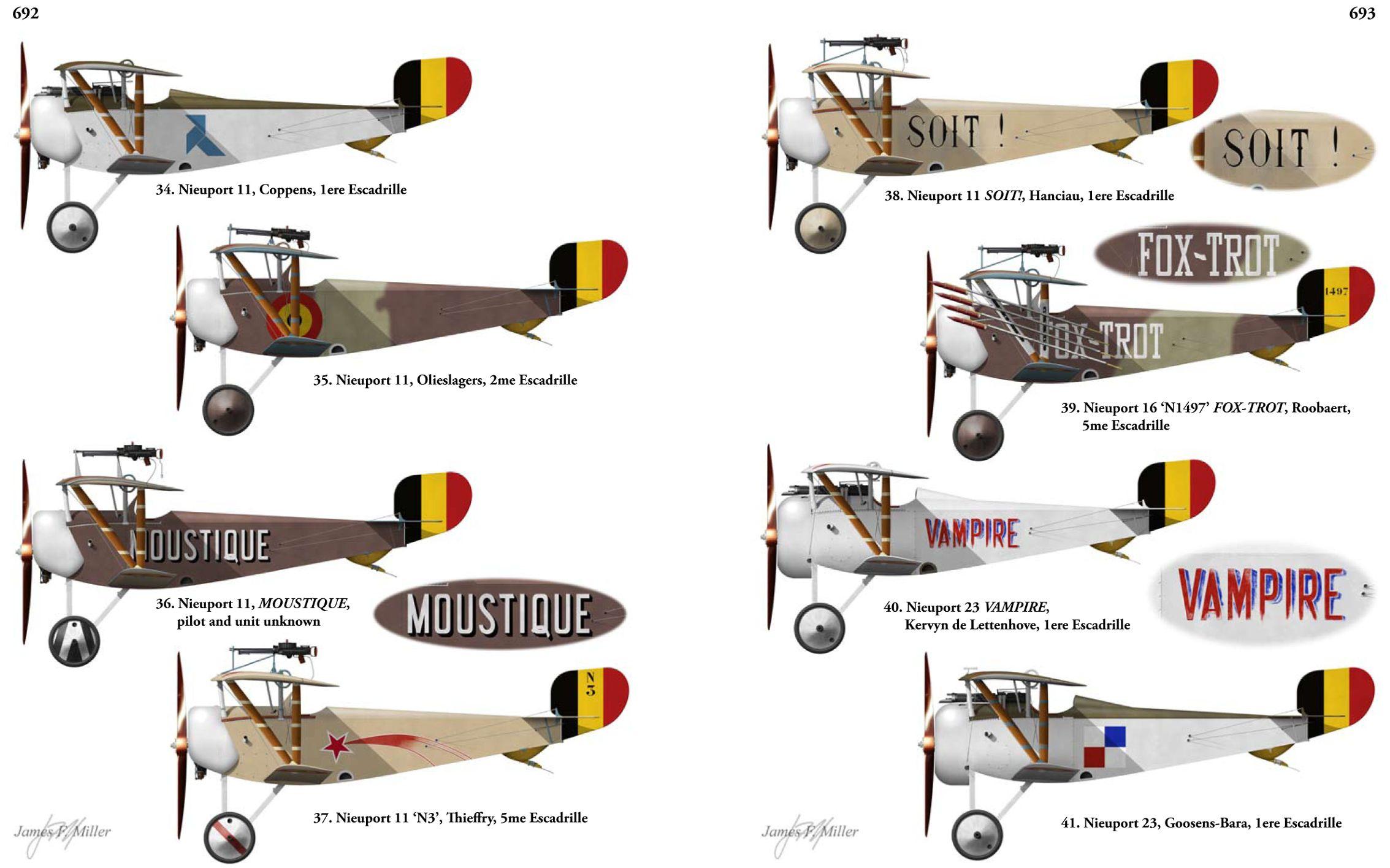 2267x1416 Aircraft Profiles Drawings