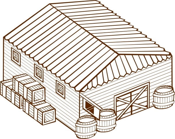 600x476 Warehouse Clip Art Free Vector In Open Office Drawing Svg ( Svg
