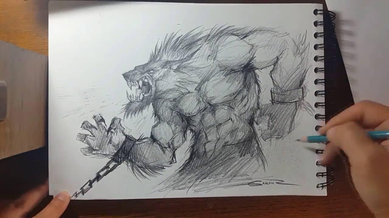 1280x720 Speed Drawing