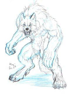 236x324 Sweet Werewolf Drawing. Horror Ideas Werewolves