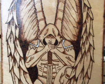 340x270 Warrior Angel Etsy
