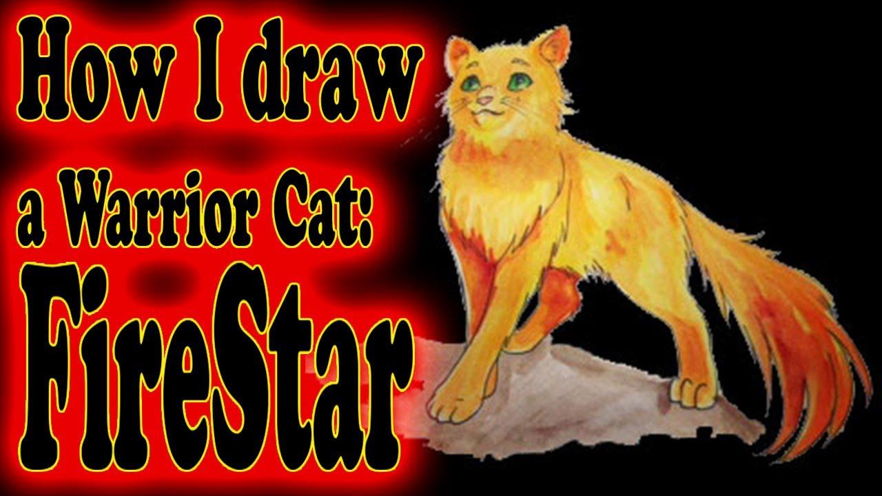 1280x720 How I Draw A Warrior Cat