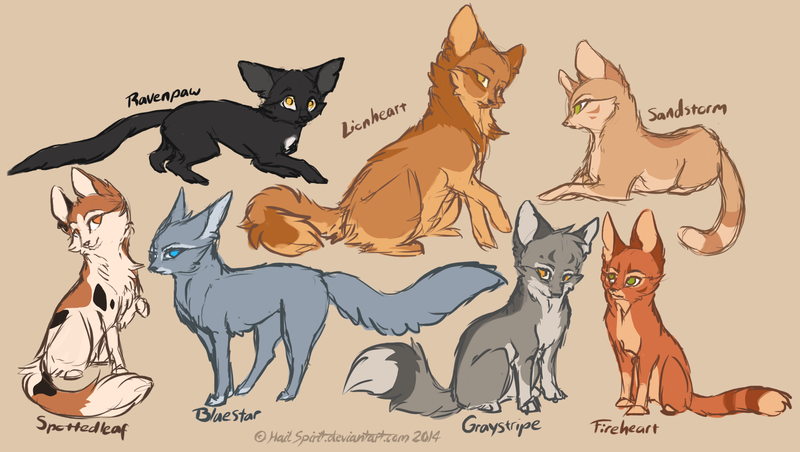800x452 Warrior Cat Drawings Cat Lovers