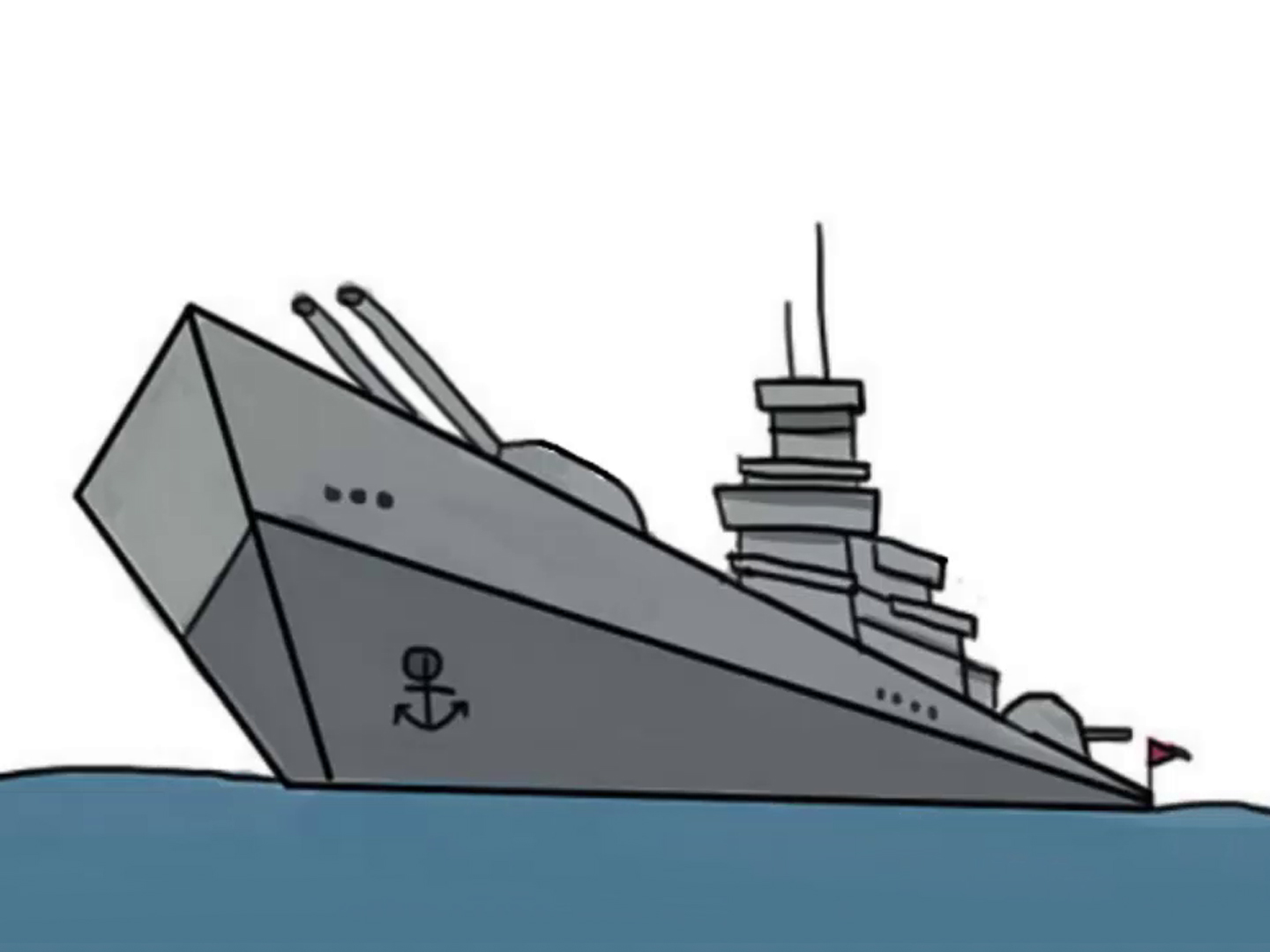 1440x1080 How To Draw A Ship (With Pictures)