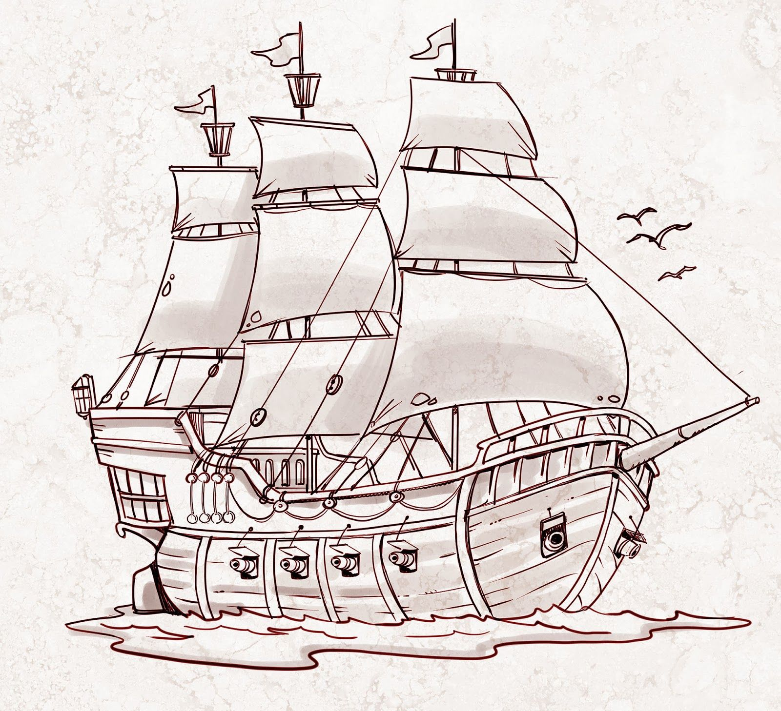 1600x1458 Pirate Ship