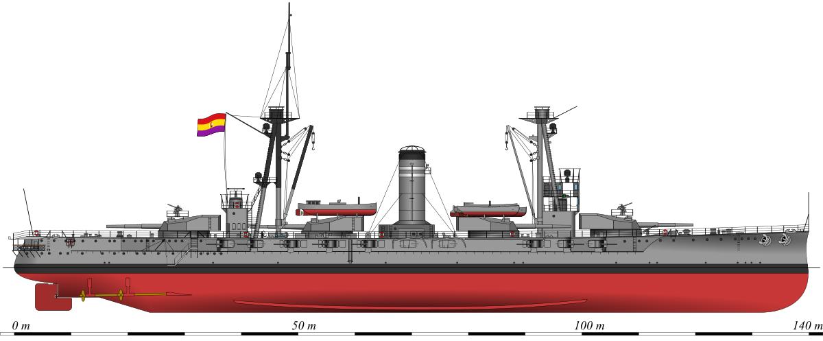 1200x497 Spanish Battleship Jaime I
