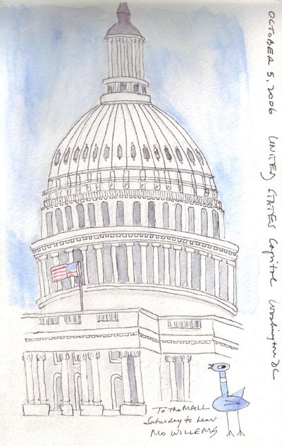 400x632 Sketch Of Capitol Building Dc