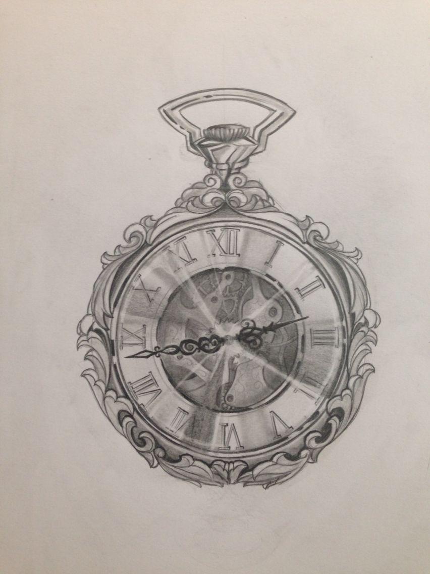 852x1136 Pocket Watch Drawing Jetzt Neu! Gt. Der Blog Den