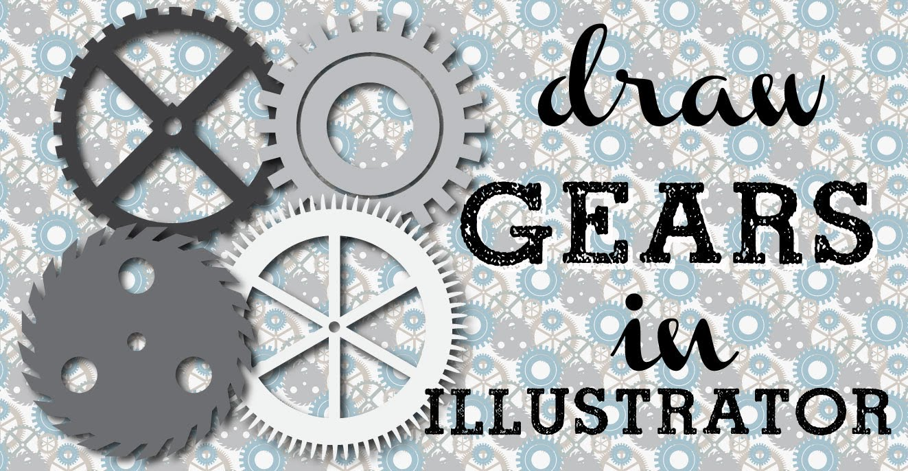 1323x686 Make Steampunk Gears In Illustrator