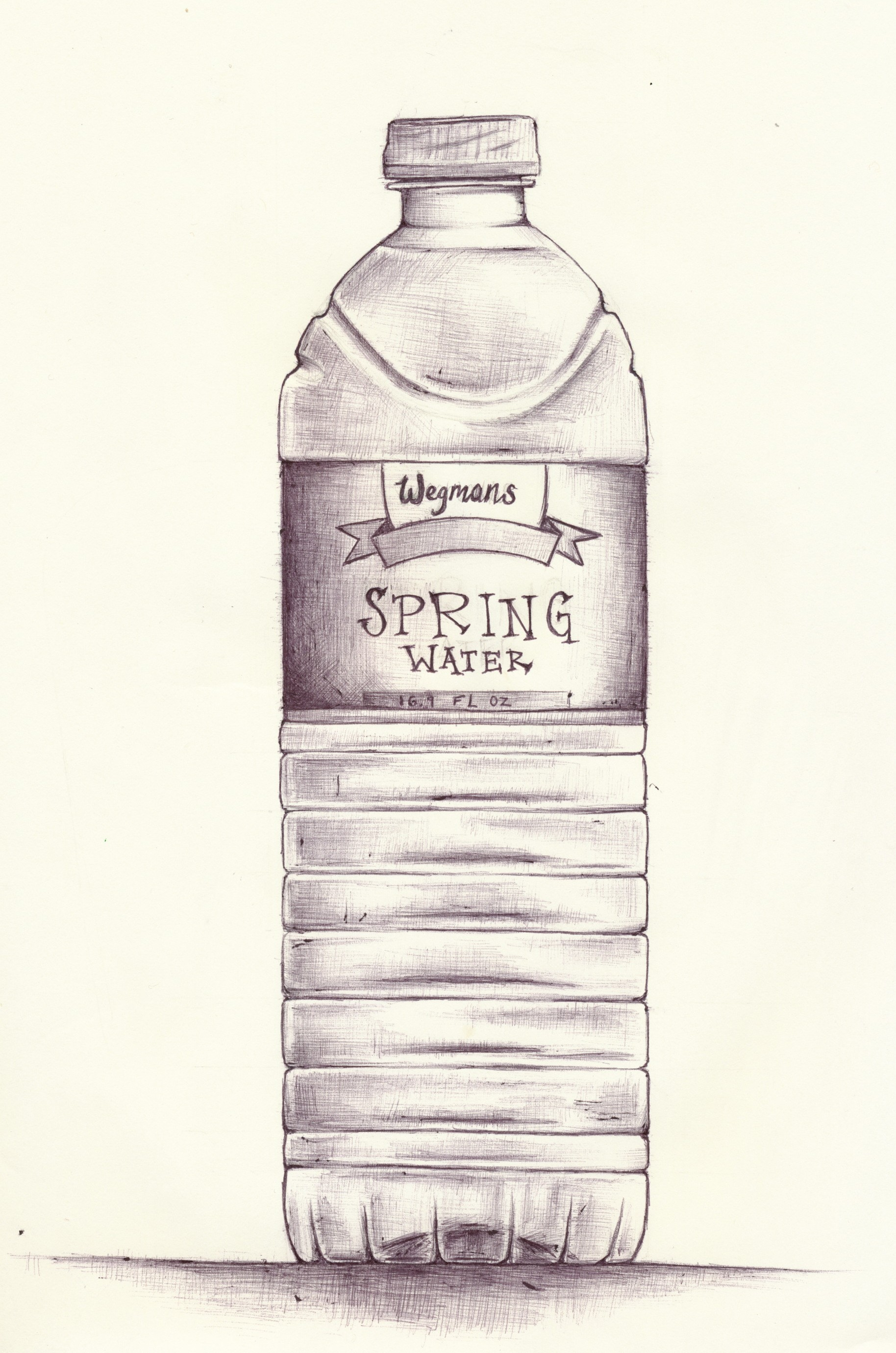 Water Bottle Drawing at GetDrawings com | Free for personal
