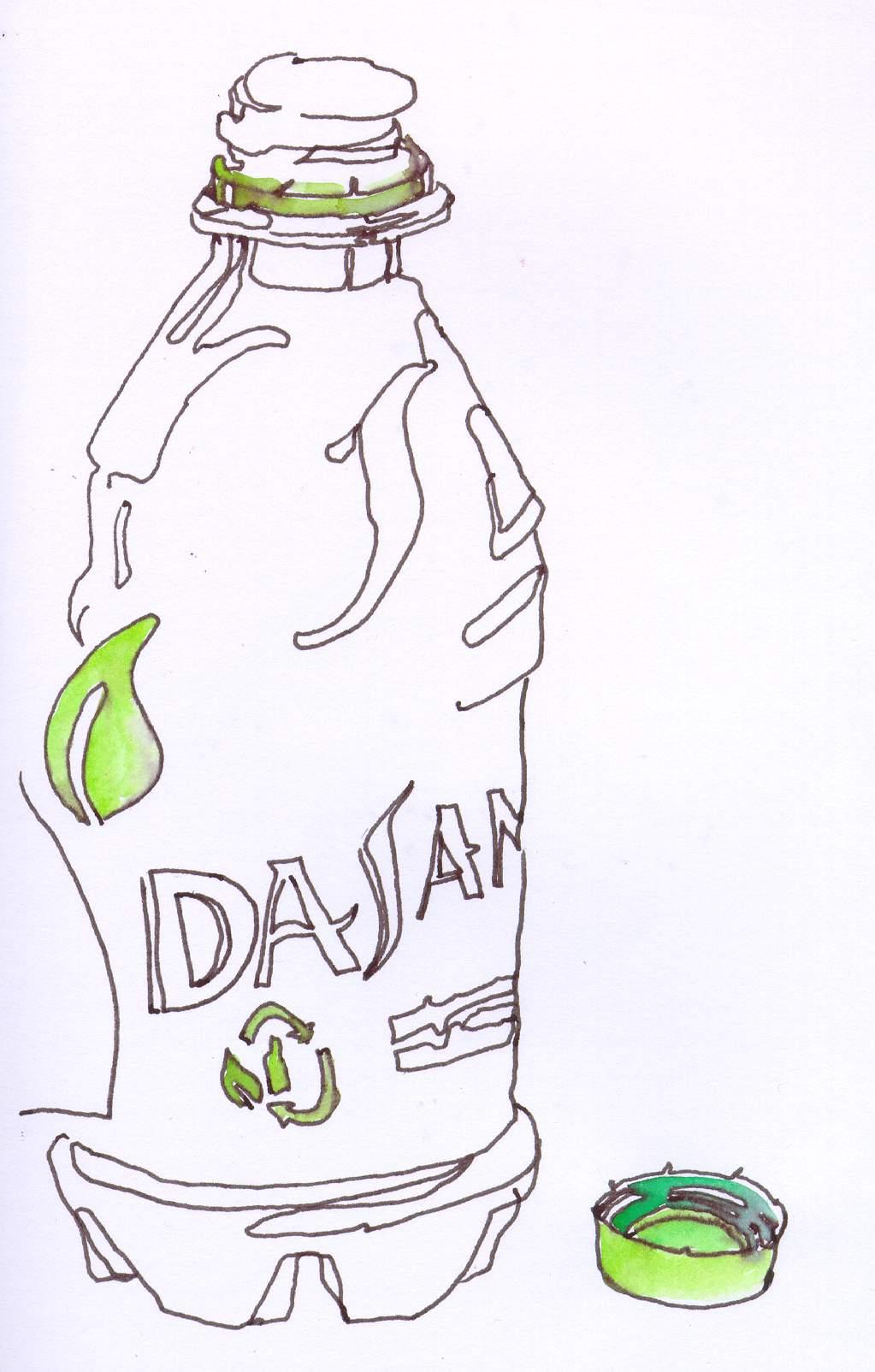 1023x1604 Dasani Water Bottle Innk Drawing Chris Carter Art 120811 Web
