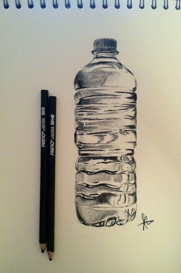 614x926 I Drew A Water Bottle.