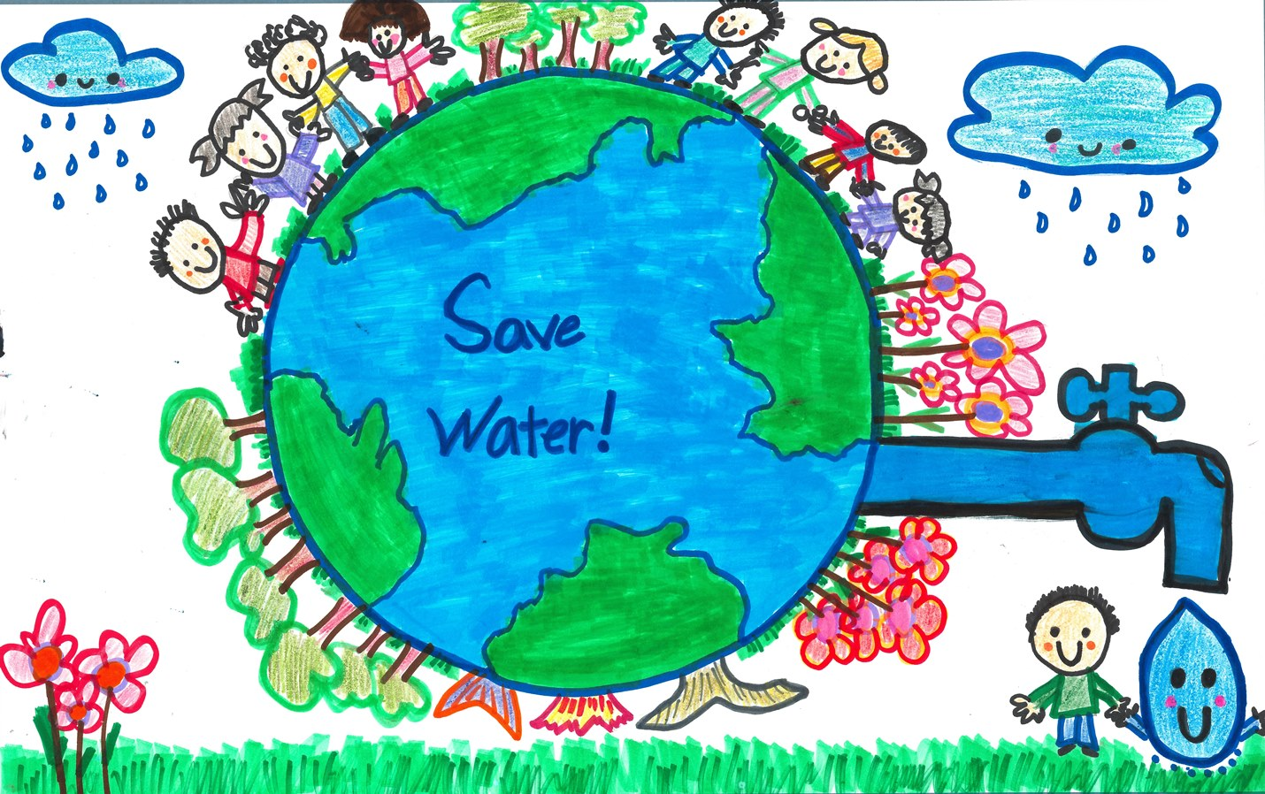 Water Conservation Drawing At Getdrawings