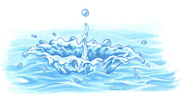600x310 Drawing A Colorful Water Splash With Copic Markers Copic