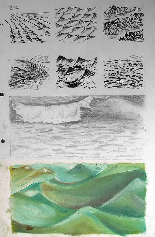 630x964 International Gcse Art Sketchbook Examples Gcse Art Sketchbook