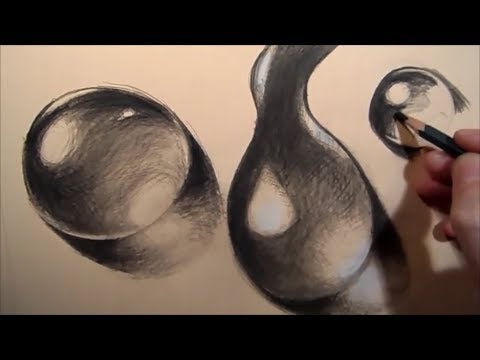 480x360 Drawing Water Drops, Step By Step