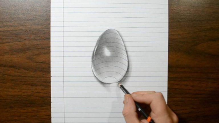 768x432 How To Draw A Water Drop On A Paper
