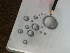 236x177 Pen Amp Ink Tutorial How To Draw A Water Drop Drawing