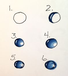 236x262 Creators Joy Lesson On How Draw Or Paint A Water Drop How