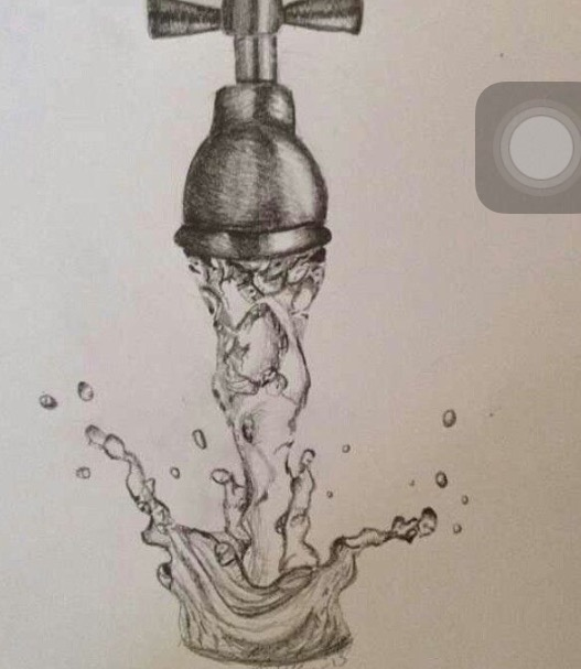 527x607 Faucet Drawing