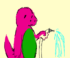 300x250 Barney Has A Water Hose