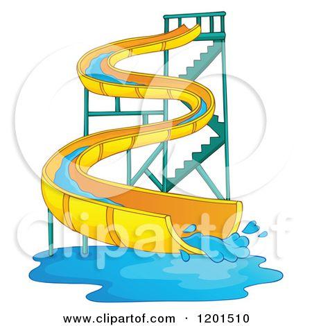 450x470 Twisty Slide Clip Art Royalty Free (Rf) Water Slide Clipart