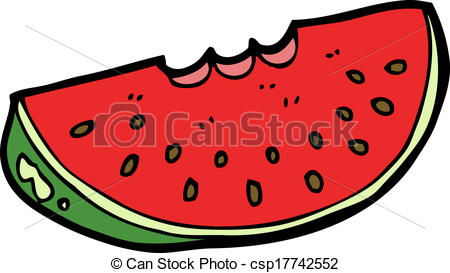 450x273 Cartoon Watermelon Slice Clipart Vector