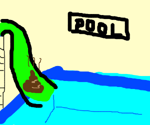 300x250 Poop On A Waterslide