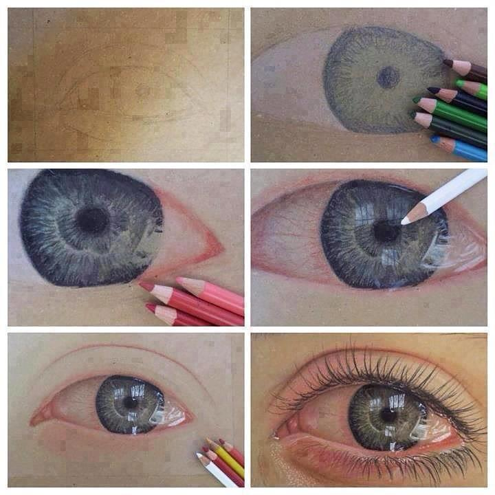 720x720 How To Draw A Watery Eye Graphic Amp Visual Design