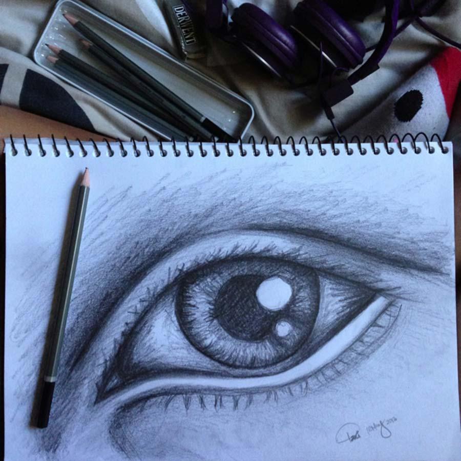 900x900 sketch study