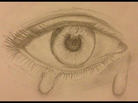 480x360 Speed Drawing Teary Eye Ripnormalitytv