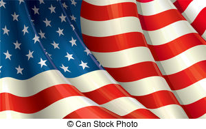300x189 Waving American Flag Clipart And Stock Illustrations. 13,358