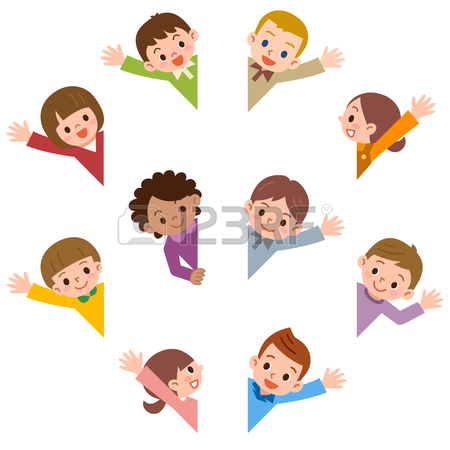 450x450 13,951 Waving Hand Stock Illustrations, Cliparts And Royalty Free