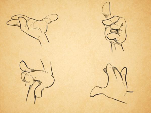 600x450 Cartoon Fundamentals How To Draw Cartoon Hands
