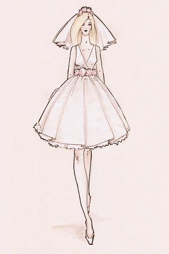334x500 Sketches Of Wedding Dresses Wedding Expert Wedding