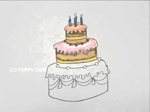 480x360 How To Draw A Wedding Cake