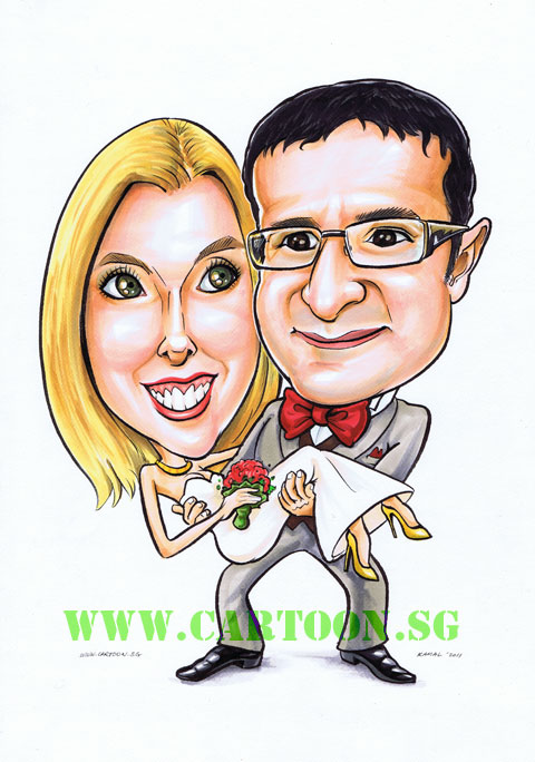 480x684 Cartoon.sg Singapore Caricature Artists For Gifts
