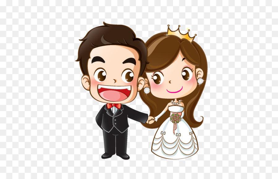 900x580 Wedding Invitation Cartoon Marriage Drawing