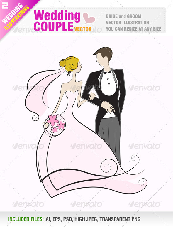 590x773 Wedding Couple By Jackrust Graphicriver