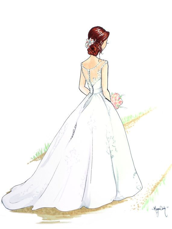 570x757 76 best WEDDING DRAWINGS images on Pinterest Card wedding