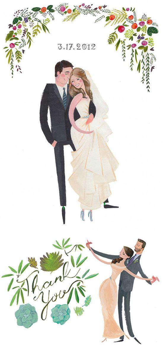 550x1175 Draw Me In Ink Custom Drawn Wedding Portraits Wedding