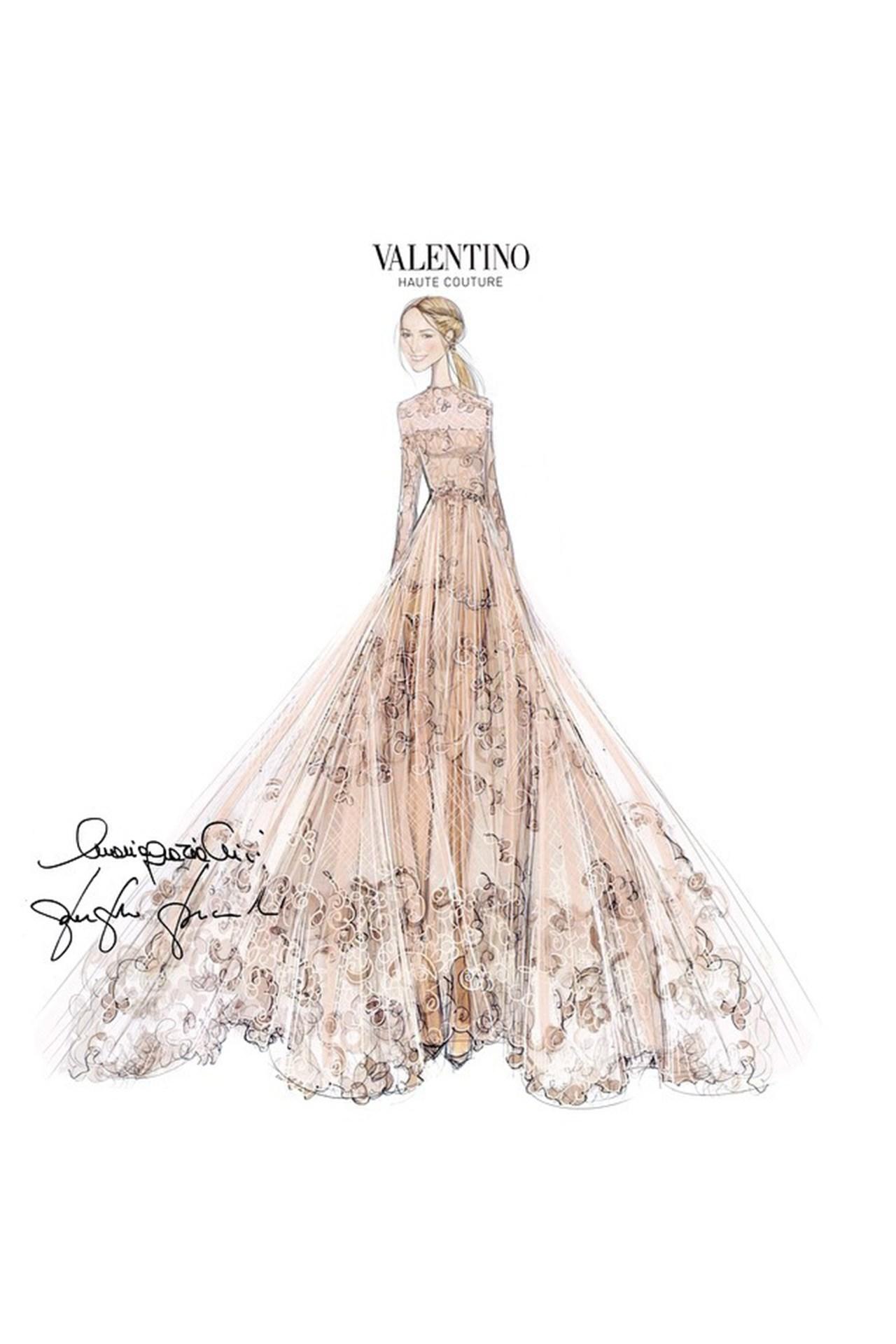 1280x1920 Drawings Of Wedding Dresses