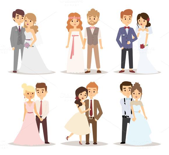 580x532 Wedding Couple Vector Wedding Couples, Couples And Weddings